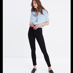 "NWT Madwell 10"" High-Rise black Skinny Jeans"